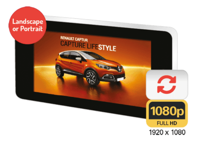 Wall-Mounted Outdoor Digital Advertising Displays