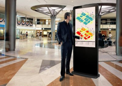 Freestanding PCAP Outdoor Touch Screen Posters