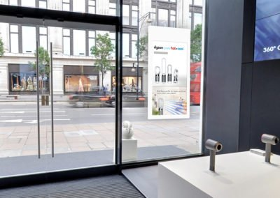 Hanging Double-Sided Window Displays
